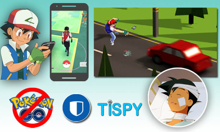 stop pokemon go with tispy